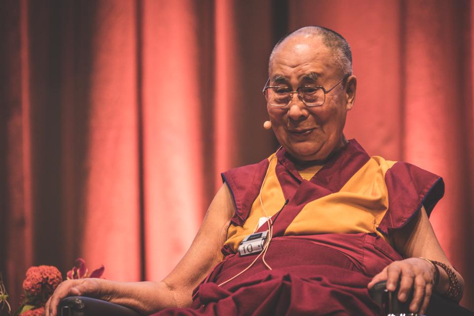Dalai Lama, Darmstadtium, Darmstadt, 19.09.2018, © Leonard Kötters