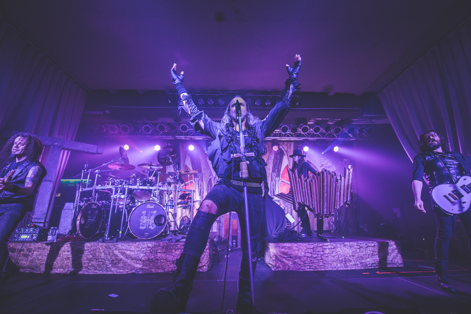 Moonspell, MS Connexxion, Mannheim, 09.12.2019, © Leonard Kötters